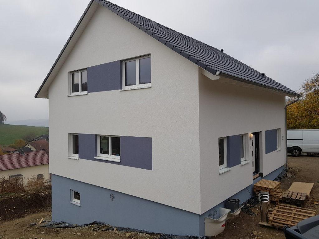 WDVS, Putz und Fassadengestaltung 8
