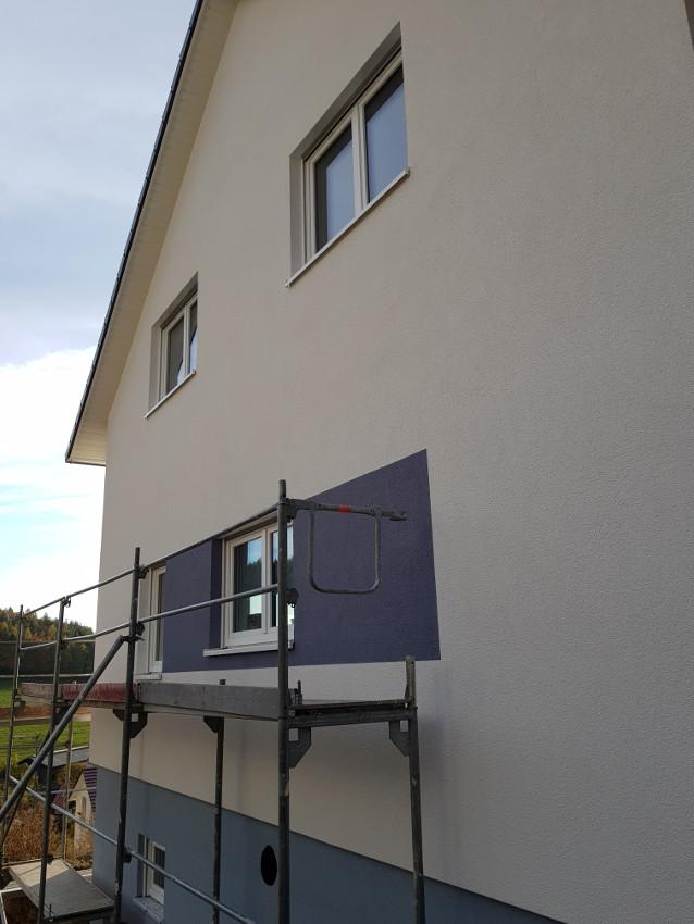 WDVS, Putz und Fassadengestaltung 12