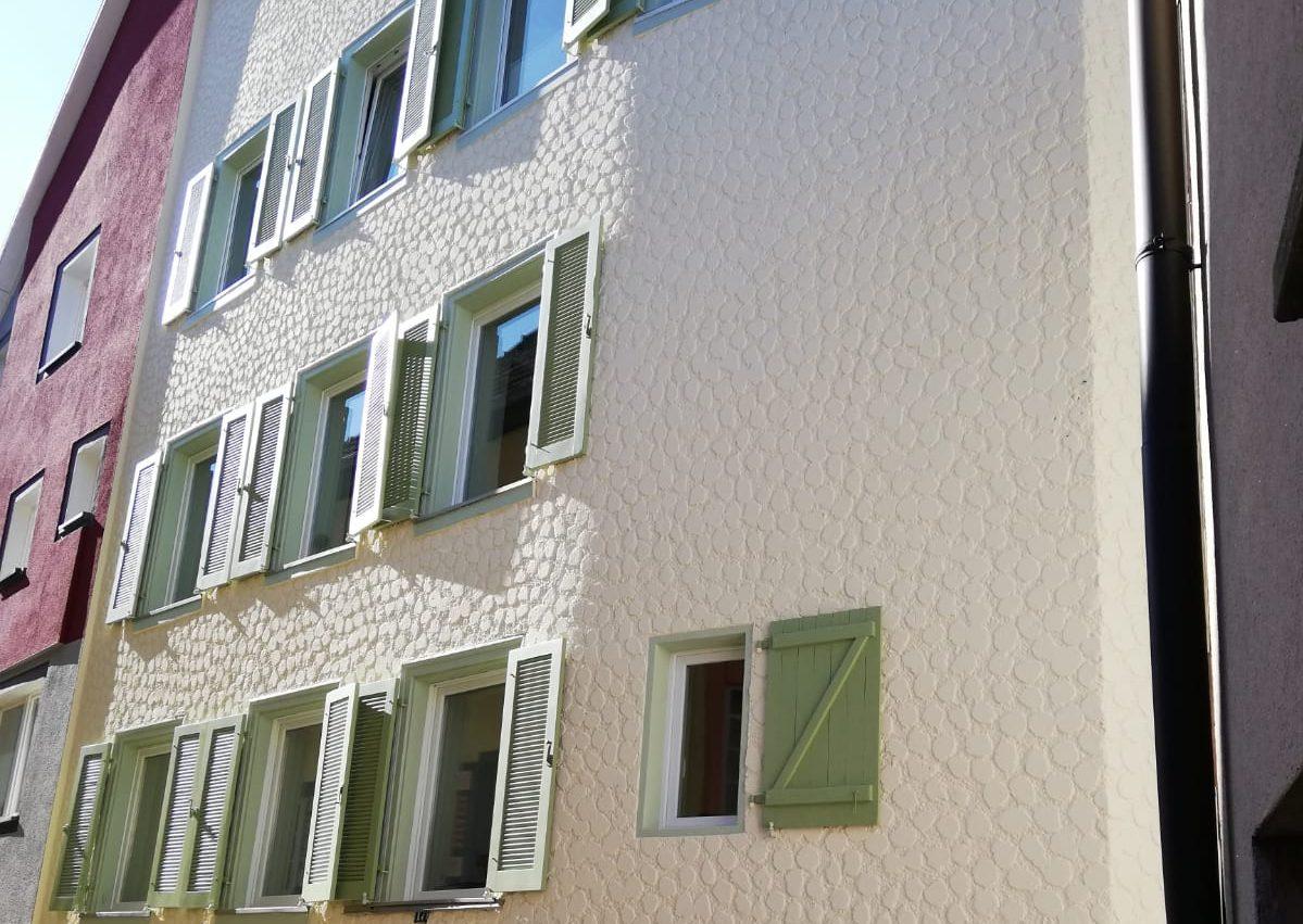Fassadengestaltung historisches Gebäude